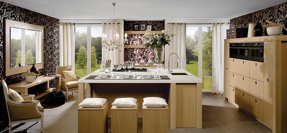 Le couturier de la cuisine home - Le decor de la cuisine ...